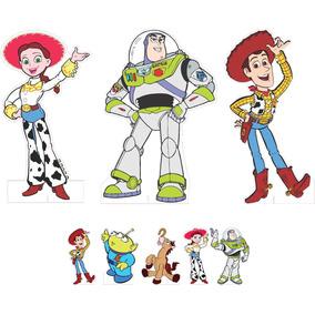 8 Display Toy Story, Totem De Chão Personalizado
