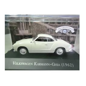 Coleção : Carros Inesquecíveis Do Brasil - Karmann-guia 1962