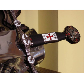 Espada Medieval Longa Templarios Cruzada Aco