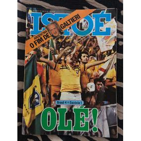 Revista Istoé 82 Copa Brasil Olé Elba Alceu Gil Galtieri