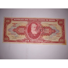 Cédula De 100 Cruzeiros