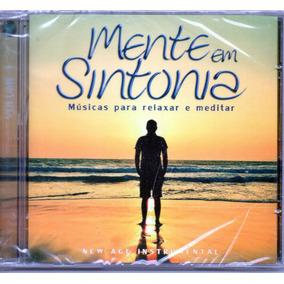 Cd Mente Em Sintonia Músicas Para Relaxar E Meditar Vol 1