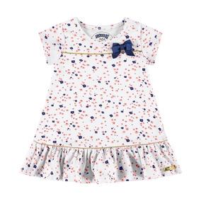 Roupa De Bebê Menina Vestido Estampa Floral Alakazoo - G