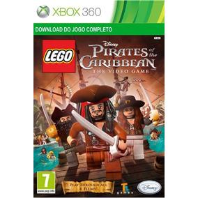 Jogo Infantil Lego Piratas Do Caribe Xbox 360 / One Digital