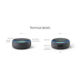 Amazon Echo Dot 3ra Gen Alexa Esp, Sin Caja Con Smart Plug