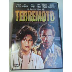 Dvd Terremoto - Original - Novo