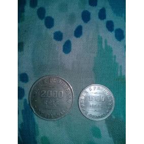 1 Moeda 2000 Reis 1907 E Uma De 1000 Reis 1909