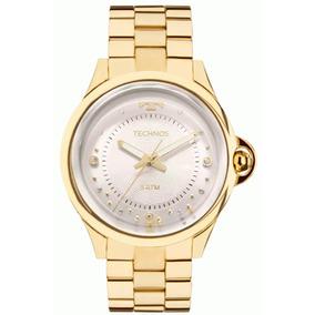 8d4448f2ba45b Relogio Technos 2039.ag 4m - Relógios no Mercado Livre Brasil