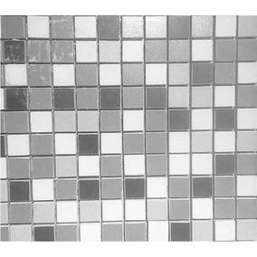 Revestimiento Tapete Mosaico Decorado Element Mix Mosaico