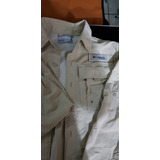 Camisa Columbia Para Niño Usada En Perfecto Estado