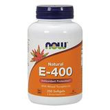 Ahora E 400 Vitamina Iu Mt Cápsulas Blandas