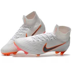 Chuteira Nike Mercurial Lancamento Campo Adultos - Chuteiras no ... 6cb6de220277b