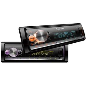 Pioneer Mp3 Player Mvh-x300br Bluetooth Usb Aux Mixtrax Ar