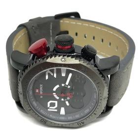 2e5b28924a8 Relogio Led Pulseira Couro Digital - Relógios De Pulso no Mercado ...