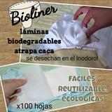 Lamina Liner Biodegradable Atrapa Caca Pañal Ecologico