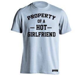 Sarcasmo-playera Property Of Hot Girlfriend