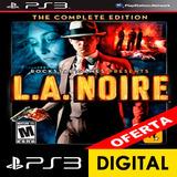 L.a. Noire: The Complete Edition Ps3