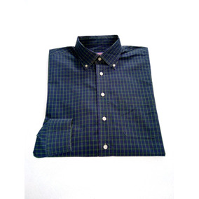 Camisa Vineyard Vines Verde Co Azul