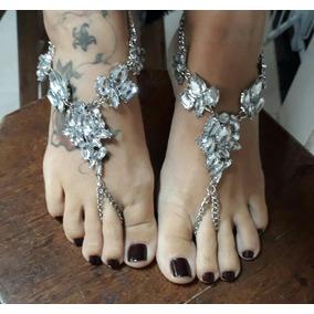 0a7de9be9da Sandálias Para Pés Descalços De Noiva - Sapatos no Mercado Livre Brasil
