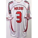 1c871cc17b Usado - São Paulo. Camisa Milan Final Champions 2007 Maldini Jogo  Autografada