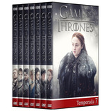 Game Of Thrones - 1° A 7° Temporada Em Dvd