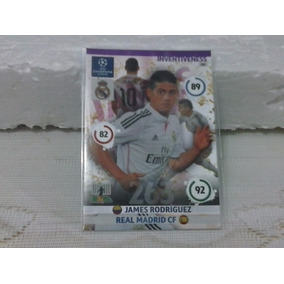 Card Champions League 14/15 -inventiveness - James Rodrigues