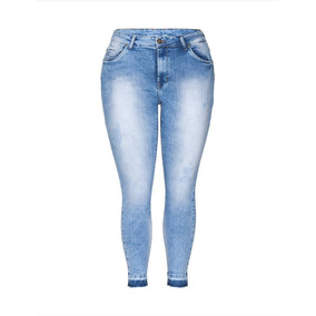 8608f69f69 Calça Jeans Feminina C Lycra Plus Size 50 52 54 Frete Grátis ...