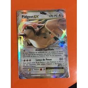 Carta Pidgeot Ex 64/108 Xy12 Evolutions + Sleeve