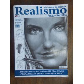 Revista Guia Curso Básico De Desenho: Rosto - Retratos