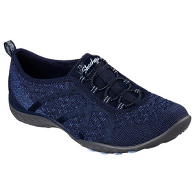 Tenis Skechers Relaxed Fit Azul Deportivo Casual Caminar
