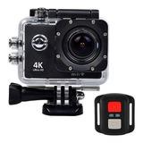 Sport Cam 4k Ultra Hd Wifi Tipo Go Pro + Mando A Distancia