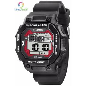 f1661bc6876 Relógio X Games Xgppd062 Tabua De Maré Nf + Garantia 1 Ano ...