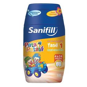 Gel Dental Sanifill Bebê 100g