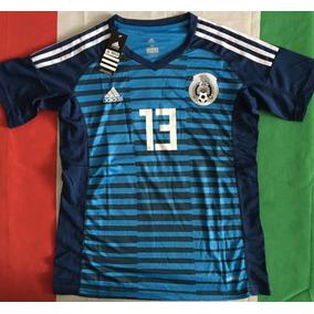 Increible Jersey Mexico Arquero Portero Memo Ochoa 13 Azul a3806aef688dc