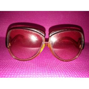 84d4042332b19 Óculos De Sol Oversized Vintage Yves Saint Laurent Anos 60