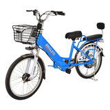 Bicicleta Elétrica Motorizada Bikelete Lítio 2019 Black