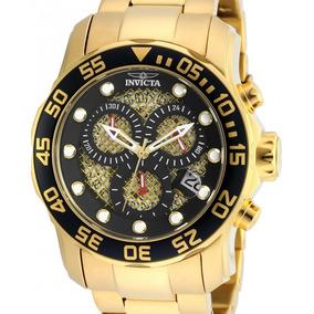 ddfac76ce5b Relogio Invita (dourado Com Preto) - Relógios De Pulso no Mercado ...