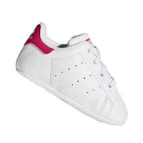 Tênis adidas Infantil Bebê Stan Smith Menina S82618 Original ff6395828ec51