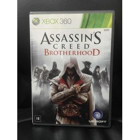 Assassins Creed Brotherhood Xbox 360 Mídia Física Completo!