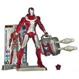 Muñeco Marvel Universe Iron Man Mark 5 Valija Lanzamisiles