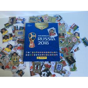Álbum + 200 Figurinhas Aleatórias (sem Repetição) Copa 2018