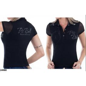 Camisa Polo Pit Bull Original Ref 24980 1517f971480