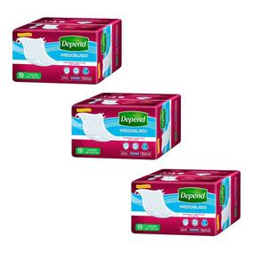 Caja De Depend® Predoblado 3 Paquetes