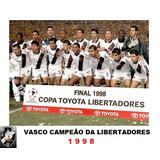 bd436de1d9 Quadro Decorativo 20x30  Vasco Campeão Da Libertadores 1998