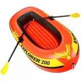 Bote Inflável Intex Explorer 200 Até 95kg - Par Remo