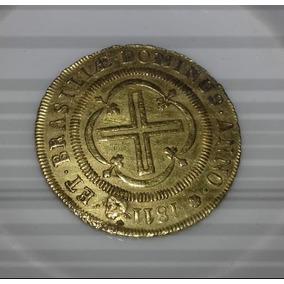 Moeda 4000 Reis 1811 Original De Ouro