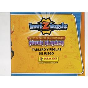 Tablero Invizimals Nueva Alianza Reglas Y Juego + 4 Sobes