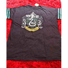 caf1a3b33d Camiseta Harry Potter Sonserina Oficial Licenciada Xgg