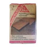 Pegamento Para Ceramica Sika Bindafix 30 Kg Impermeable