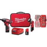 Atornillador M12 2482-22 Milwaukee